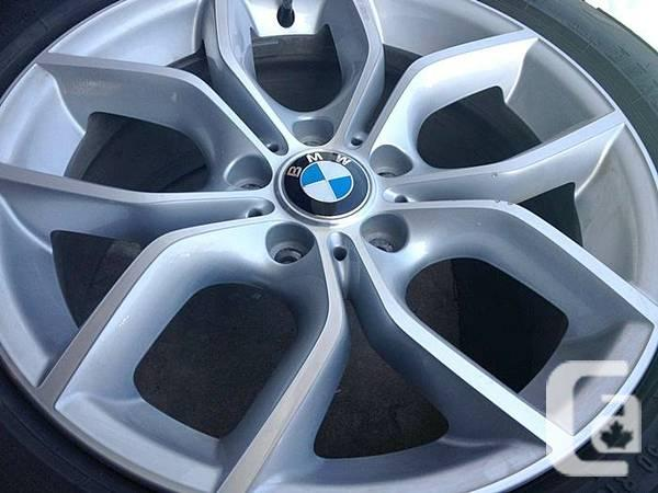 4 oem 2013 bmw x3 rims run flat 90 tires 245 50 r18. Black Bedroom Furniture Sets. Home Design Ideas
