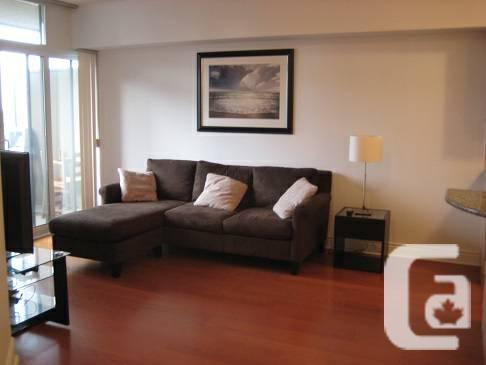 $ 1950 1br - 700ft² - Fully-Furnished 1+Den for Rent,