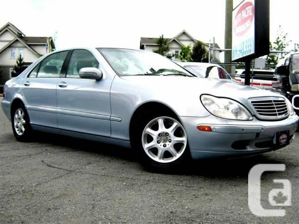 2000 mercedes benz s500 for sale in vancouver british c for Mercedes benz vancouver