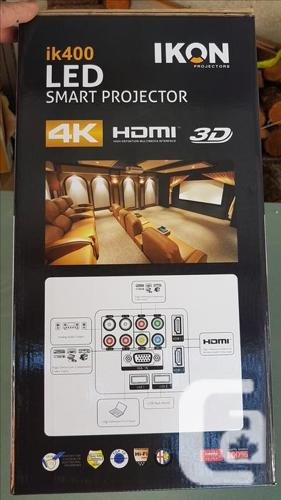 ** $$$$ ** Price Drop IKON LD Smart Projector, iK400,