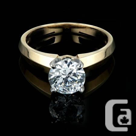 0.90 Carat Band ideal for Gold Anniversaries--Simply -