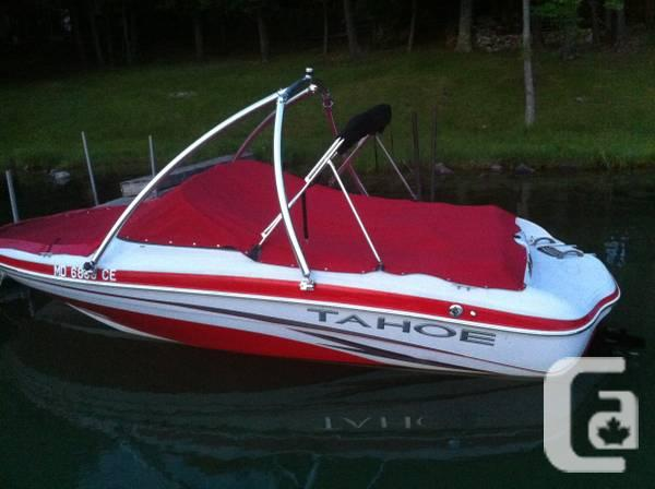 08 Tahoe Q4 Bow rider boat + Pro TOWER & 2012