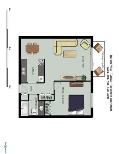 1 bedroom apartment - near mall and services!