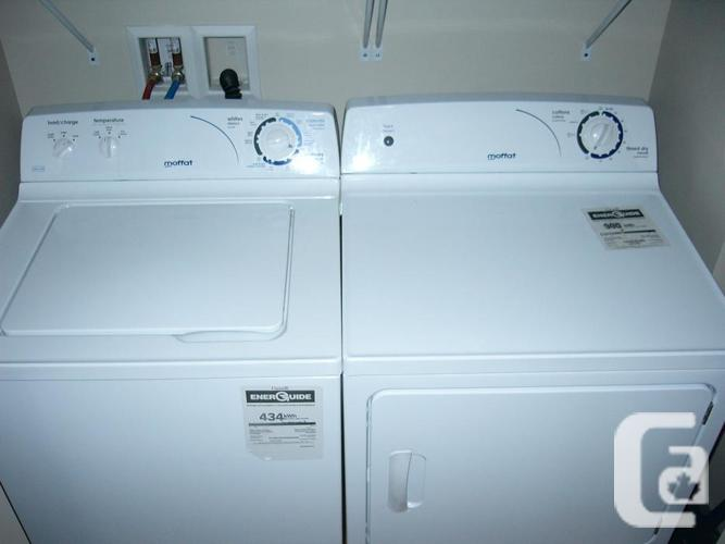 * 1 Moffat  ProFull Size Washer & 1 Dryer Unit. 1-1/2