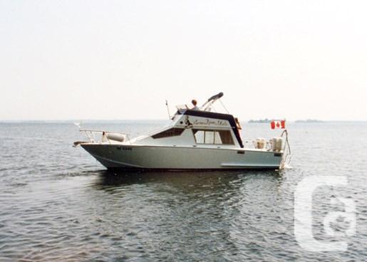 $10,000 1987 Glen-L 8M Flybridge Sedan Boat for Sale