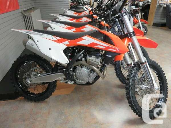 $10,166 2016 KTM 250 SX-F Motorcycle for Sale