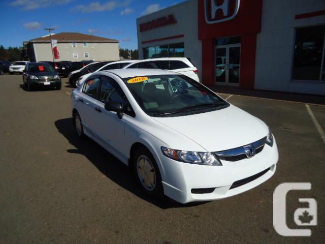 10' Honda Civic DX-G, Auto, 108K: REDUCED! A/C,