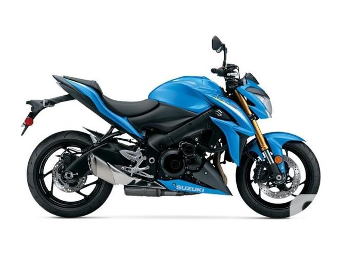 $10,499 2016 Suzuki GSX-S1000 ABS Blue Motorcycle for