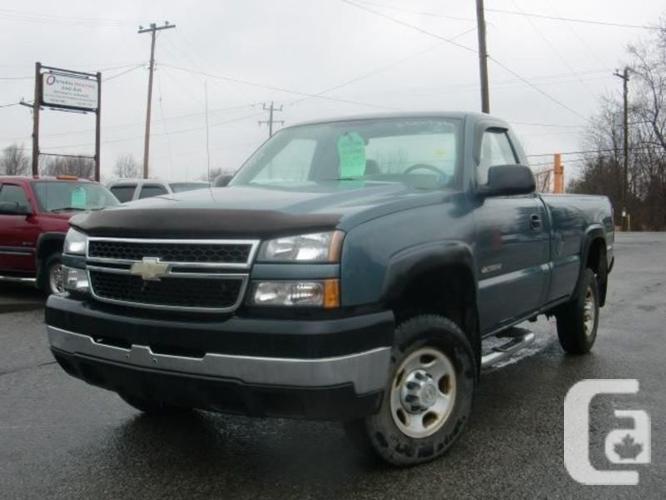 $10,850 Used 2006 Chevrolet Silverado 2500HD LS