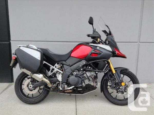 2014 suzuki v strom 1000 abs se motorcycle for sale for sale in langley british columbia. Black Bedroom Furniture Sets. Home Design Ideas