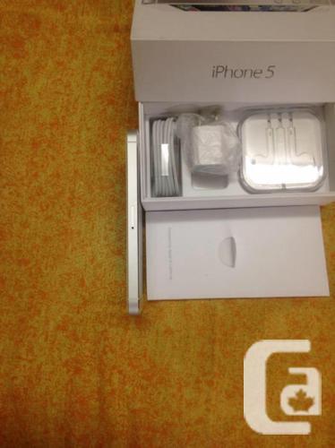 100%100 like brand new factory unlocked iPhone 5 16G