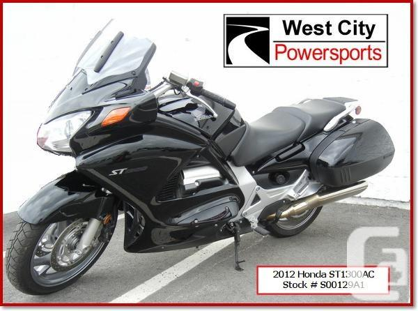 $11,995 2012 Honda ST1300 ABS Motorcycle for Sale