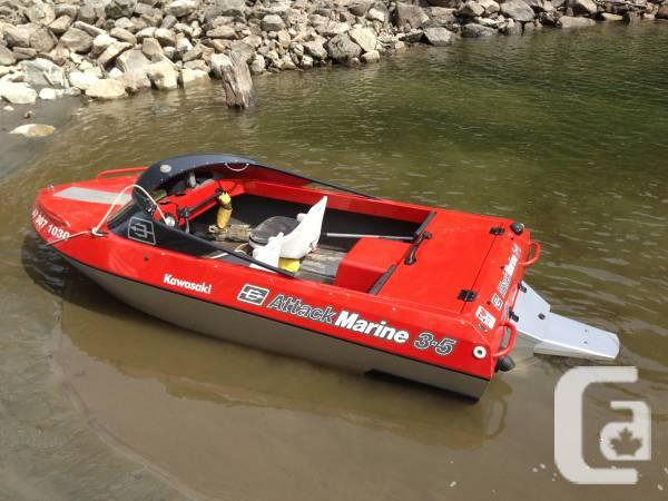 11' Jet Boat, Attack Marine - $16800 in Vancouver, British Columbia for sale