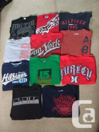 11 Males's Brand T Shirts - (Little)