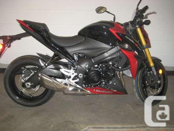 $12,154 2016 Suzuki GSX-S1000F ABS Red Motorcycle for