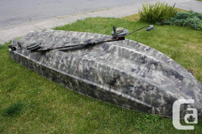 12 39 Camo On A Tilt Trailer With 24lb Electric Motor