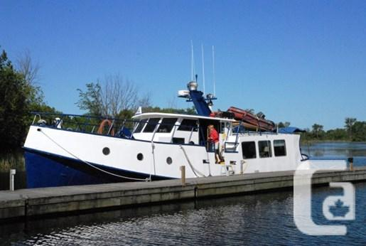 $120,000 1995 Custom built steel trawler Steel Trawler