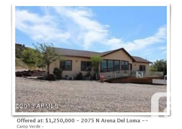 $1250000 Verde Valley RV Park 36 Sites For Sale