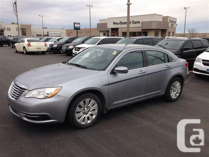 used 2013 chrysler 200 lx for sale in windsor ontario classifieds. Black Bedroom Furniture Sets. Home Design Ideas