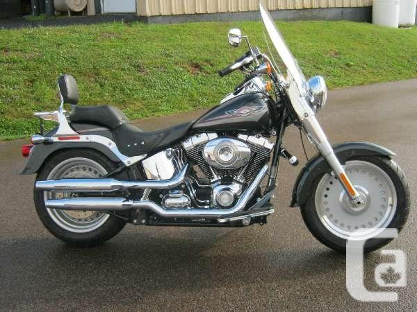 $13,499 2008 Harley-Davidson Softail Fat Boy Motorcycle