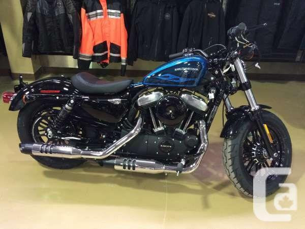 2016 harley davidson forty eight motorcycle for sale for sale in saint john new brunswick. Black Bedroom Furniture Sets. Home Design Ideas