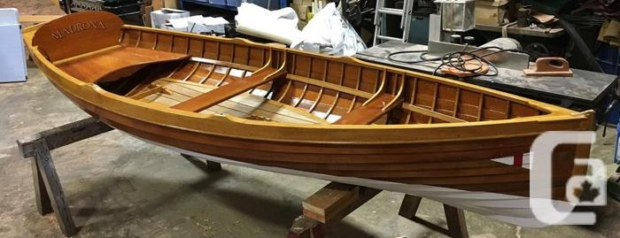 13.5' Gartside Clinker Rowboat