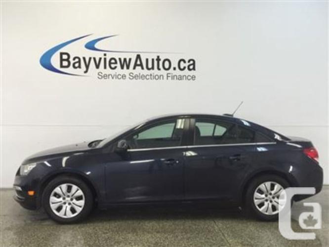 $14,995 Used 2015 Chevrolet Cruze 1LT