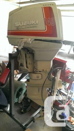 140 hp suzuki outboard oil injected - $450 in Vancouver, British Columbia  for sale