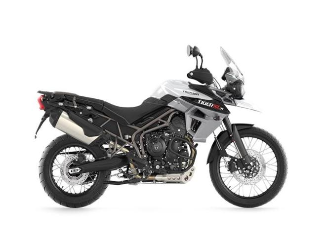 $15,200 2016 Triumph Tiger 800 XCx Crystal White