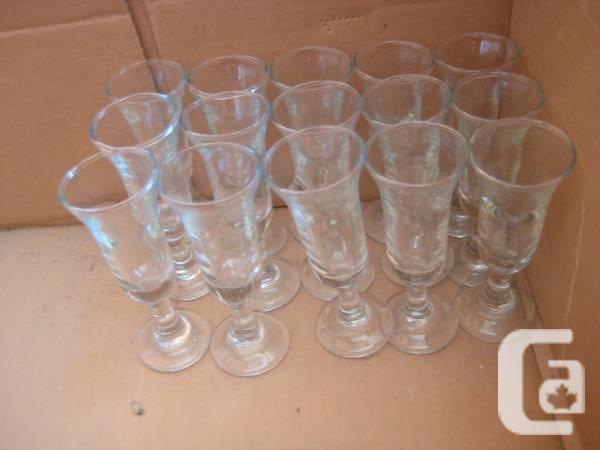 15 - wine cups or flute wine - $15