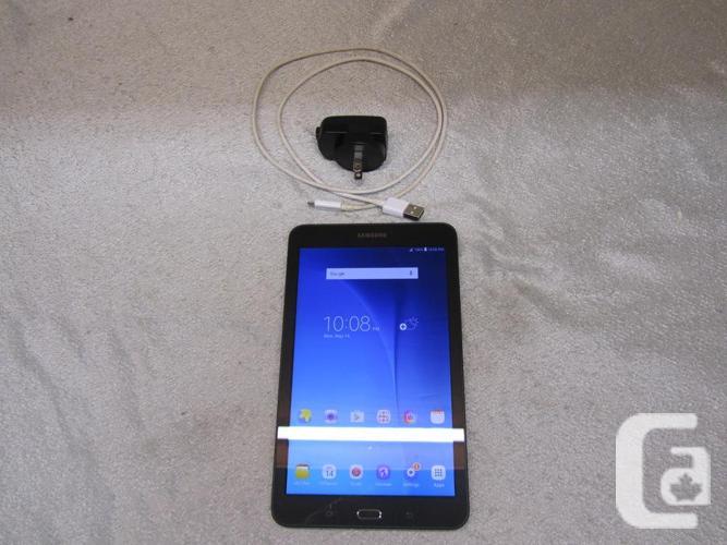#159810-17 SAMSUNG Galaxy Tab E SM-T377W 16 GB tablet