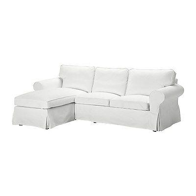 $159 IKEA EKTORP Cover for Loveseat with Chaise