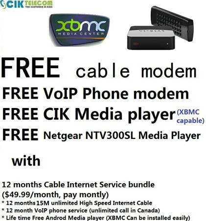 Cable and internet deals no contract