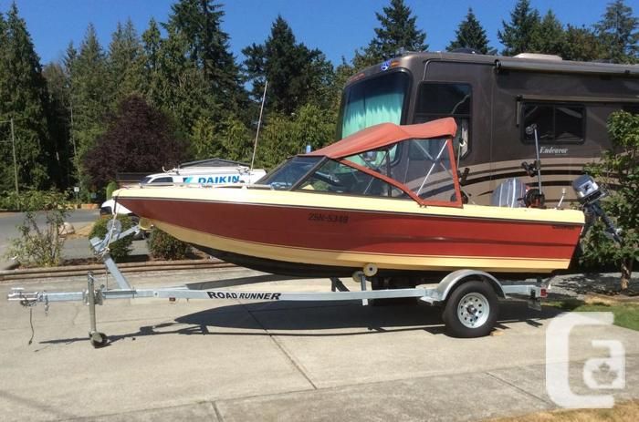 16.5' Campion Runabout on Brand New Trailer - Ready to