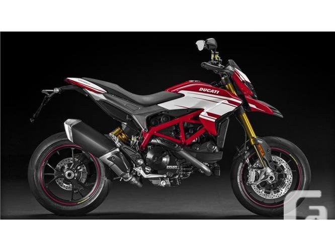 $16,795 2016 Ducati Hypermotard 939 SP Motorcycle for