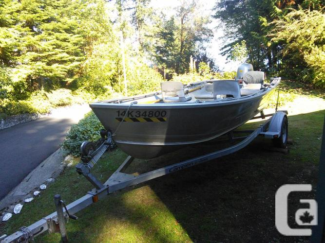 Aluminum Boats For Sale Bc >> 16 Ft Welded Aluminum Lifetimer Boat In Cowichan Bay British Columbia For Sale