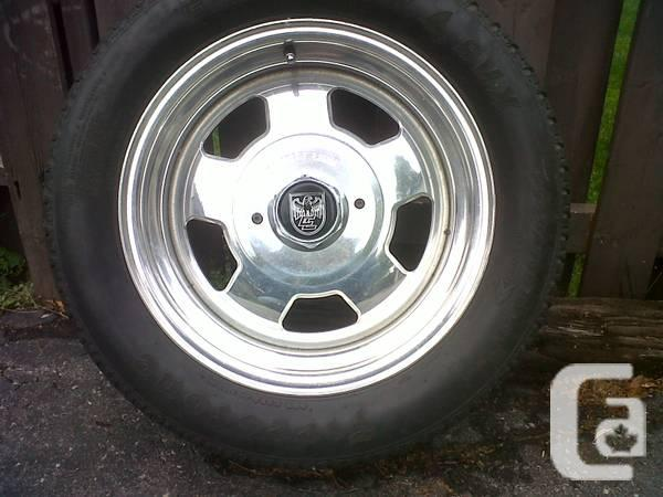 16 inch center line rims with tires - $300