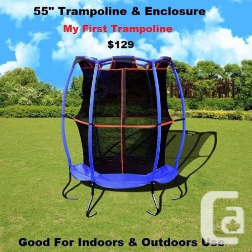 17' & 15' Trampoline & Safety Net, Industrial Grade,