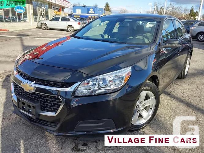 $17,899 Used 2015 Chevrolet Malibu 1LT