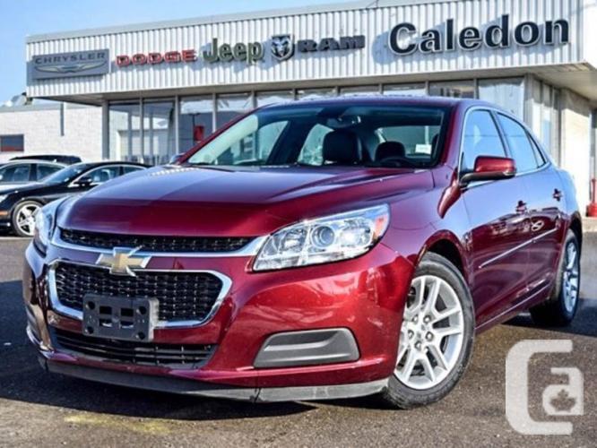 $17,998 Used 2015 Chevrolet Malibu LT Sunroof OnStar