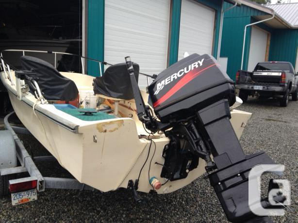 17ft surf craft Boston Whaler style in Tofino, British Columbia for sale