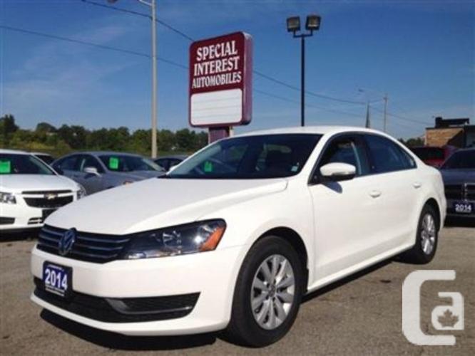 $18,995 Used 2014 Volkswagen Passat 2.5L Trendline