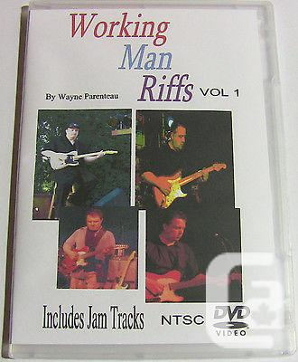 $18.99 Working Man Riffs* Country Guitar Lessons Licks