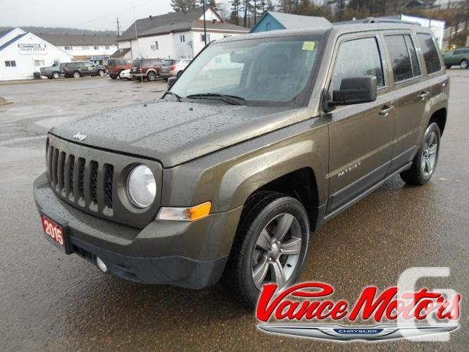 $19,000 Used 2015 Jeep Patriot High Altitude 4X4