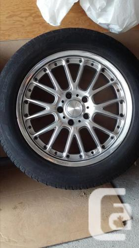 19 inch Rims on Dunlop 3D Sports Winter Tires
