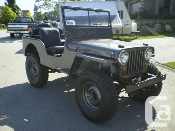 Jeeps For Sale Bc >> 1947 Jeep Willys Cj2a Mint 12000 In Surrey British Columbia For Sale