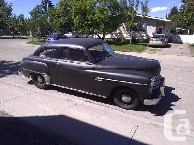 1949 Dodge Wayfayer 2 door 6 cyl Flathead 16700