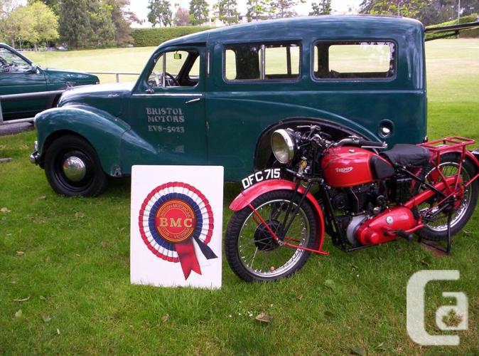 1950 Austin British Car & Motorcycle Father's Day