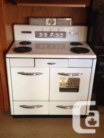 1950 Treasure Electric Range - $300