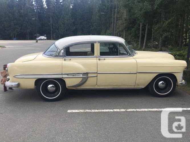 1953 chevy bel air 4 door obo for sale in coombs british for 1953 belair 4 door